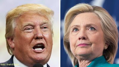 Twitteren támadta Trump Hillary Clintont