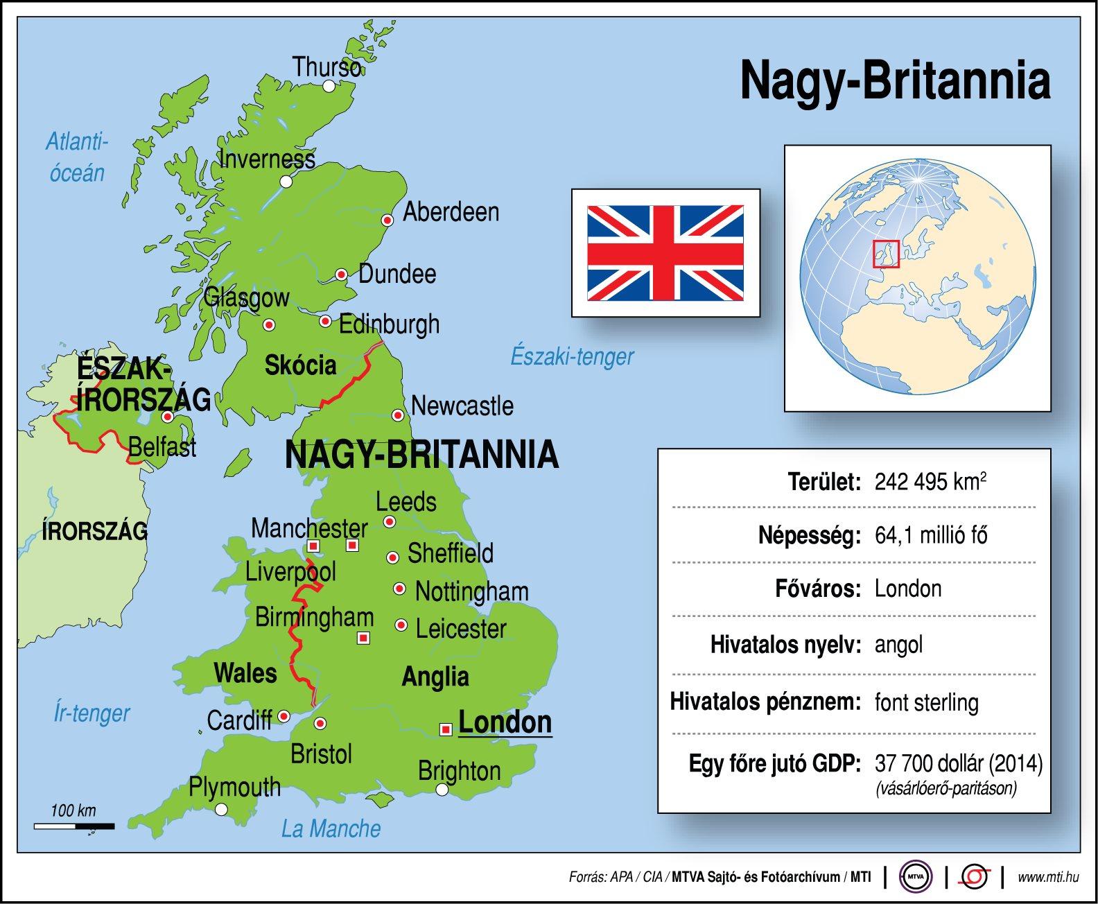 nagy-britannia térkép Nagy Britannia egy ábrán   ProfitLine.hu