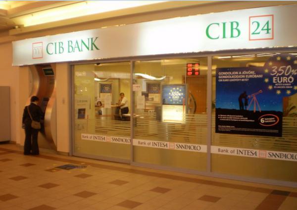 Három fiókkal csökken a CIB Bank hálózata a nyáron