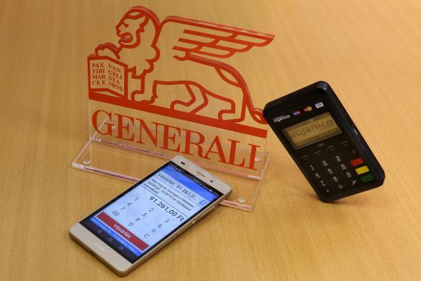 Ingenico mobil fizetési terminálokkal látja el tanácsadóit a Generali Biztosító
