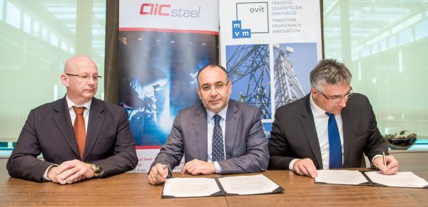 Az MVM OVIT szaúd-arábiai cégalapítási szerződést írt alá