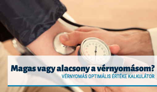vérnyomás teszt mérés normális értéke