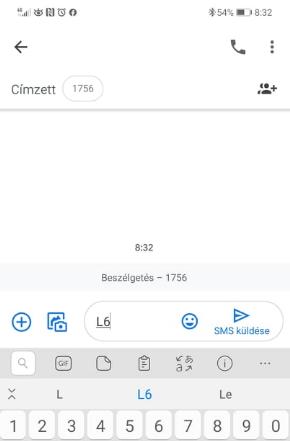 hatos lottó fogadás SMSben