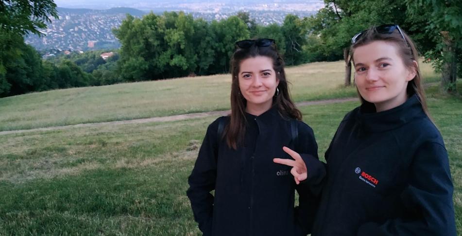 Lévay Krisztina és Madaras Liz, a Poliloop alapítói